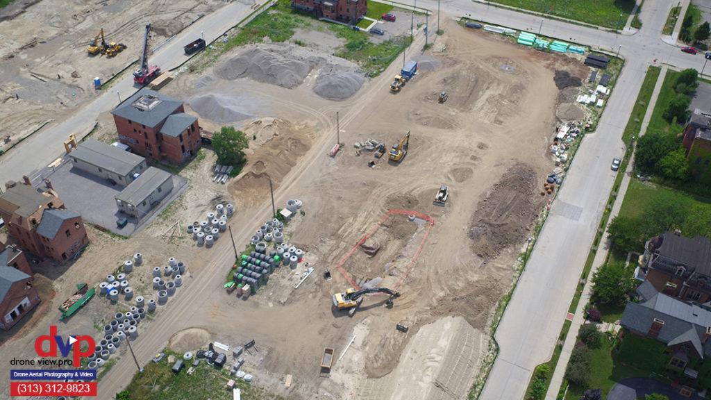 City Modern Community Development in Brush Park, Detroit, Michigan