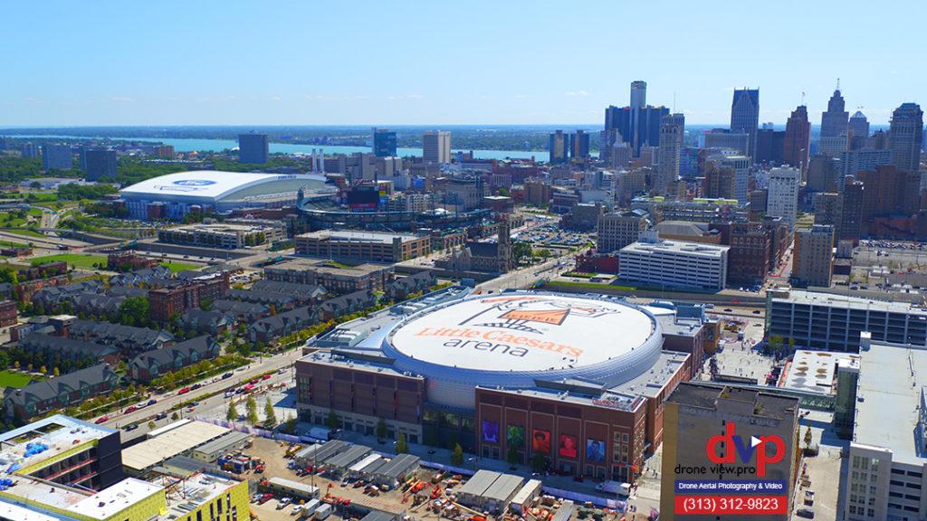 Downtown Detroit Stadiums Arenas