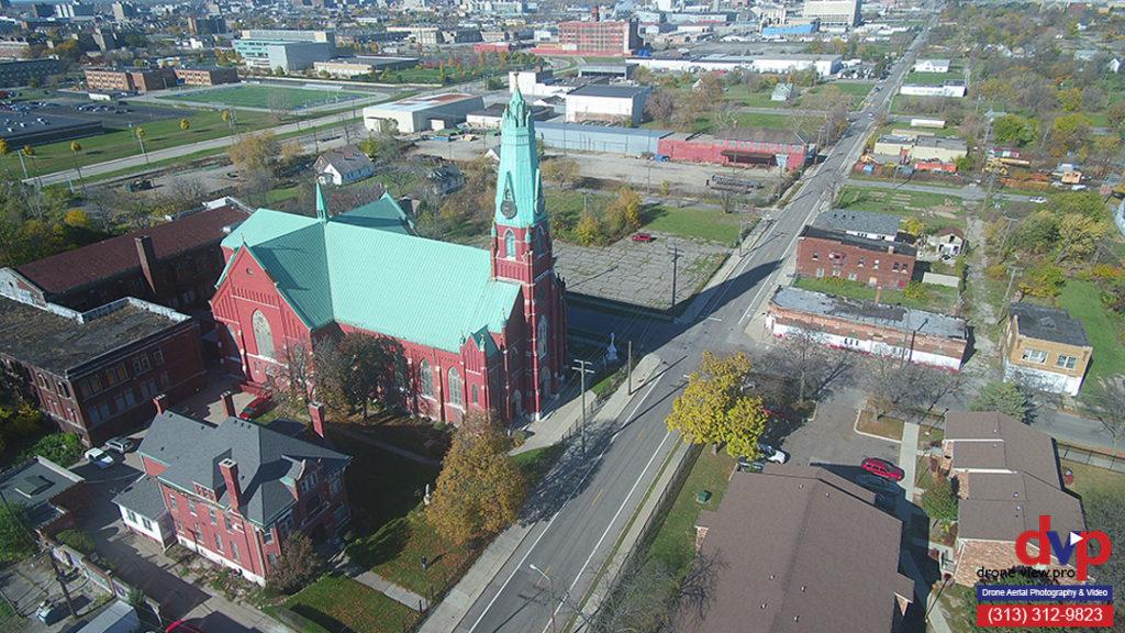 St Albertus Cathoilic Church - Detroit, Michigan